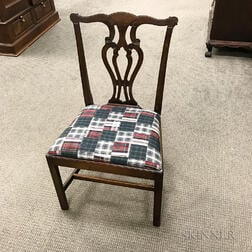 Set of Eight Chippendale-style Mahogany Dining Chairs