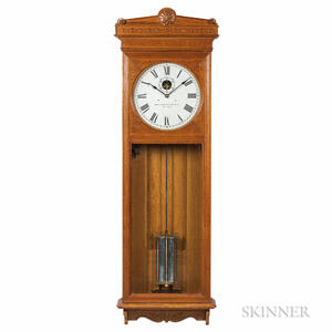 Self-winding Clock Co. Wall Regulator No. 9 Master Clock