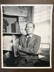 George Platt Lynes (American, 1907-1955)      Eight Portraits of Authors and Critics