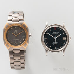 Two Omega Wristwatches