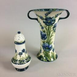 Two Moorcroft Pottery Items