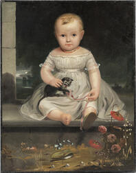 Attributed to Junius Brutus Stearns (America, 1810-1855)      Portrait of Ela Underhill