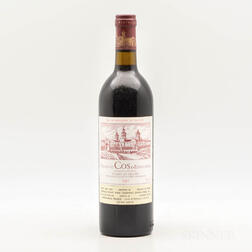 Chateau Cos dEstournel 1982, 1 bottle