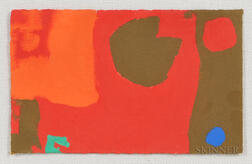 Patrick Heron (British, 1920-1999)      Mini Mini 9: February 1972
