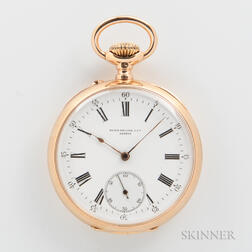 Patek Philippe 18kt Gold Open-face Watch