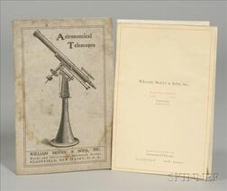 Catalogue of Astronomical Telescopes from William Mogey & Sons Inc.