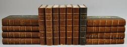 Set of Fifteen Morocco-bound Volumes Related to Napoleon