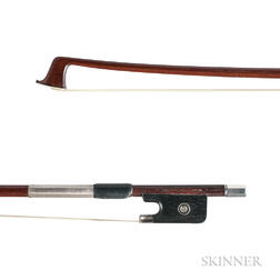 Silver-mounted Violin Bow, Workshop of Victor Fetique
