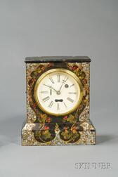 Iron-Front Shelf Clock by the Terry Clock Company