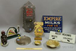 Group of Assorted Collectible and Advertising Items
