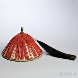 Qing Court Official's Hat