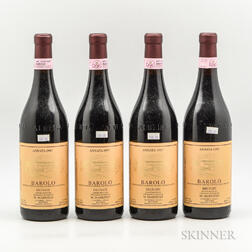 Marengo Barolo Brunate 1997, 4 bottles