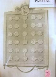 Six R. Bowyer Prints Depicting Historic British and Roman Coins