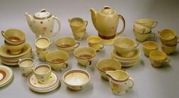 Fifty-three Pieces of Susie Cooper Designed Tableware