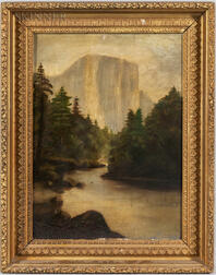 American School, 19th Century      Yosemite View