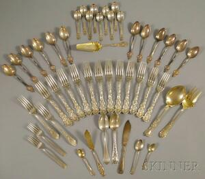 Group of Assorted Sterling Silver Flatware and Serving Items