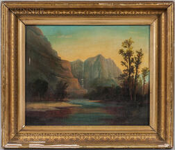 American School, 19th Century      Yosemite Falls