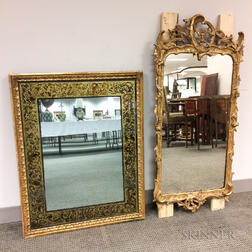 Two Gilt Mirrors
