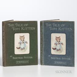 Potter, Beatrix (1866-1943) The Tale of Tom Kitten  , Two Copies.