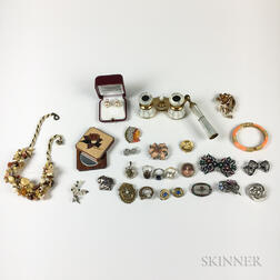 Group of Costume Jewelry and Accessories
