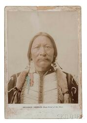 """Buckskin Charlie"" Head Chief of the Utes"