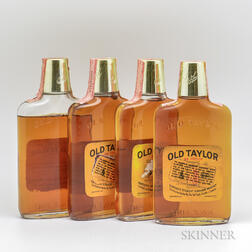 Old Taylor 4 Years Old, 4 1/2 pint bottles