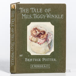 Potter, Beatrix (1866-1943) The Tale of Mrs. Tiggy Winkle.