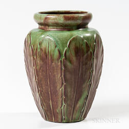 William J. Walley Leaf Vase