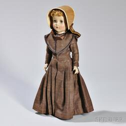 Doll with Handmade Shaker Garments