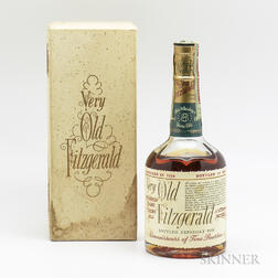 Very Old Fitzgerald 8 Years Old 1950, 1 1/2 pint bottle (oc)