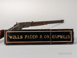 Winchester Model 1873 Saddle Ring Carbine with Wells Fargo Provenance and Strong Box