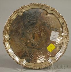 Sterling Silver Footed Salver