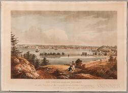 Wall, William Guy (1792-1864) New York from Heights near Brooklyn.