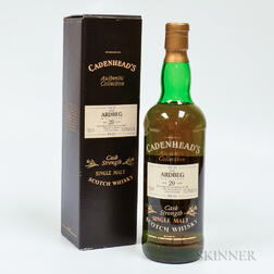 Ardbeg 20 Years Old 1974, 1 750ml bottle (oc)
