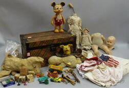 Two Boxes of Toys and Dolls