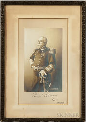 Dewey, Admiral George (1837-1917) Signed Photograph.