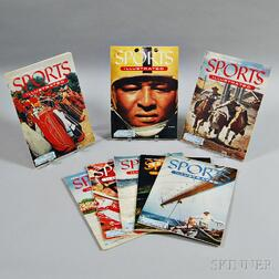 First Eight Issues of Sports Illustrated   Magazine.