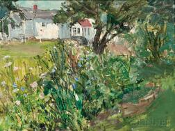 Vladimir Lebedev (Russian/American, 1910-1991)      House and Gardens
