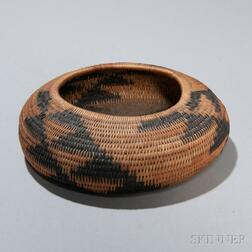 Pomo Coiled Basketry Bowl