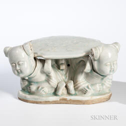 Qingbai-glazed Pillow