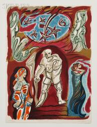 André Masson (French, 1896-1987)      Don Giovanni