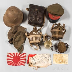 Group of WWII Japanese Items