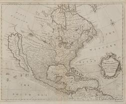 North and South America: Two Maps. Richard William Seale (1703-1762)   A Map of North America