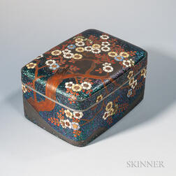 Lacquered Box and Cover