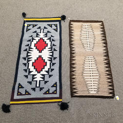 Two Small Woven Rugs