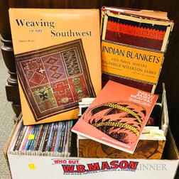 Small Group of Books on the American Indian Relating to Baskets and Weavings