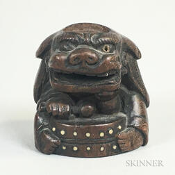 Carved Wood Netsuke