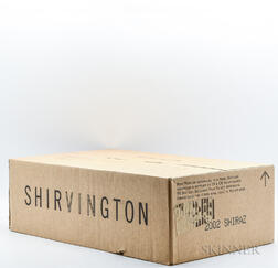 Shirvington Shiraz 2002, 12 bottles (oc)