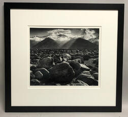 Ansel Adams (American, 1902-1984)      Mount Williamson, Sierra Nevada from Manzanar, California