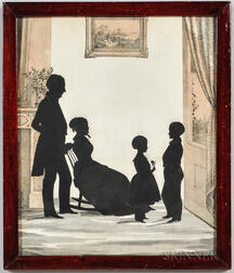 Gallupe Family Silhouette